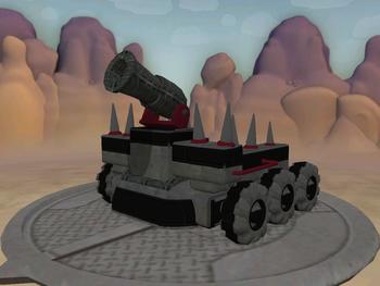 Deathquake mortar