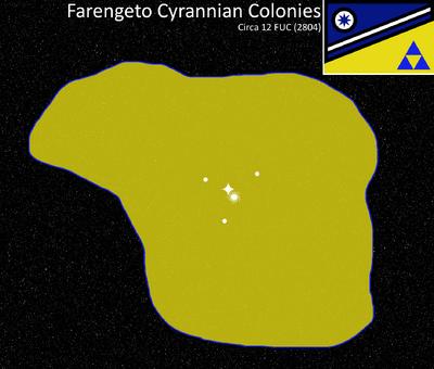 Farengeto Cyrannian Map