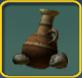 Super old clay pot icon
