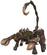 Giant Sand Scorpion