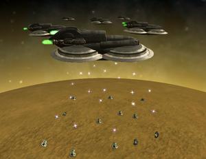 Droner Attack