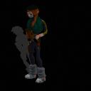 Loyalist Female Soldier