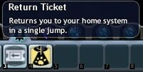 Return Ticket Icon