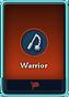 Warrior card