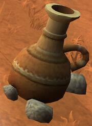 Super old clay pot