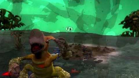 Spore Épico devorando jugador
