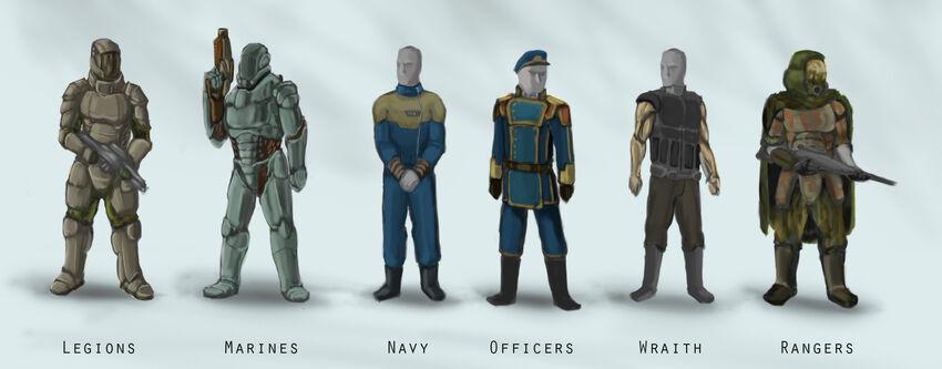 Imperial uniforms 2
