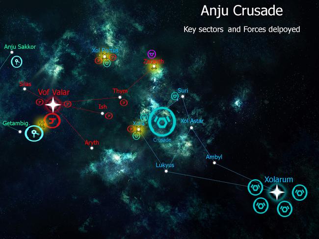 Anju Crusade Beginning