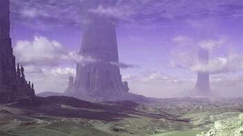 Desert atlas pillar