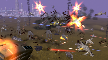 SGCW Battle of Laurantia
