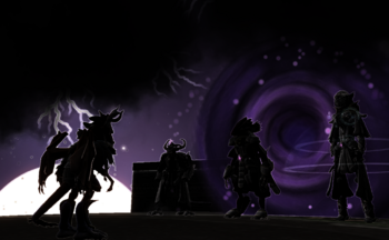 A Shadowy Meeting
