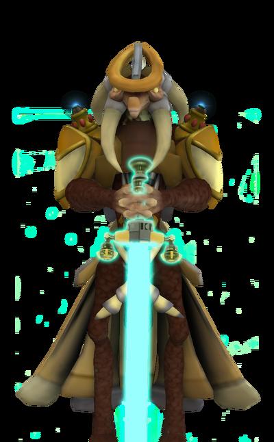 Kroc with sword 2