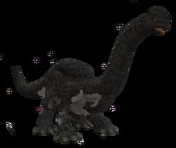 Brontoriasaurus (grey)Large