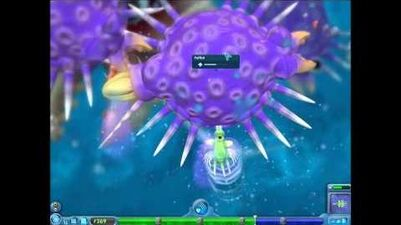 Spore - killing an epic cell in Cel Stage