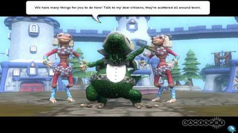 Spore Galactic Adventures - Welcome to Town