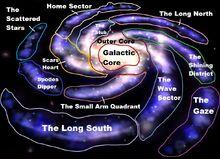 Saegon Space Sectors