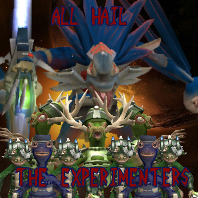 All hail experimenters