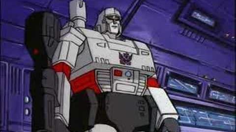 Starscream beats Megatron