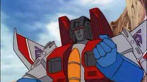 STARSCREAM VS OPTIMUS PRIME