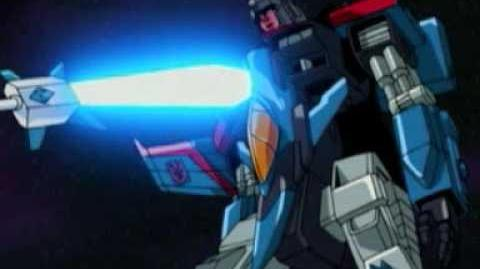Transformers Armada Starscream vs Galvatron final battle