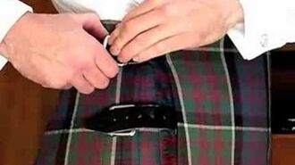 How to Wear a Full Formal Kilt Outfit with All Accessories