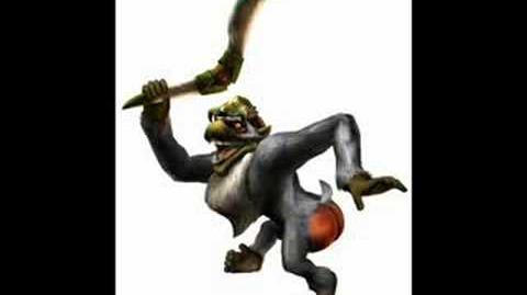 Zelda Twilight Princess - Ook, the Monkey King