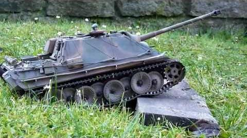 RC Tank Jagdpanther Heng Long