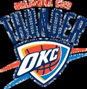Oklahoma city thunder 2009-present aa
