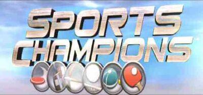Sports champions start screen banner