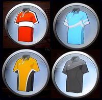 Bonus outfits emblems