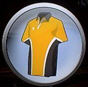 Emblem gold outfit
