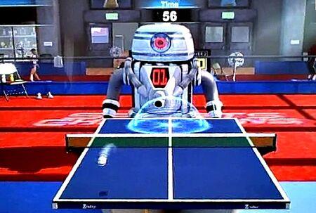 Tennis challenge bot
