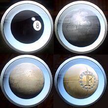 Bocce bonus balls emblems