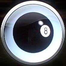 Bonus equipment emblem 8 ball set bocce