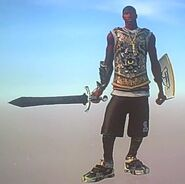 Gladiator weapon jackson casual gladeus graecus