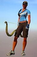 Outfit boomer silver archery