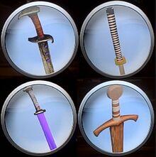Gladiator Duel bonus weapons emblems