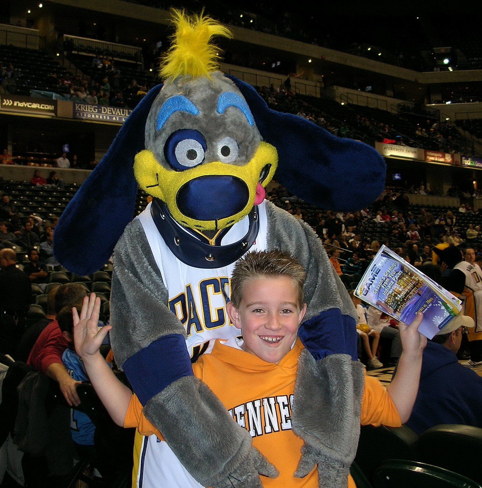 Bowser (Indiana Pacers) | SportsMascots Wikia | FANDOM ...