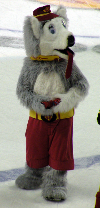 Harvey The Hound Calgary Flames Sportsmascots Wikia Fandom