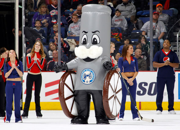 Boomer the Cannon (Columbus Blue Jackets) | SportsMascots Wikia ...