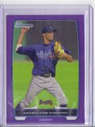 2012 Bowman Prospects Purple