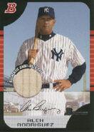 2005 Bowman Baseball Relics 50