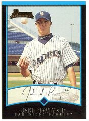 2001 Bowman Rookie Peavy