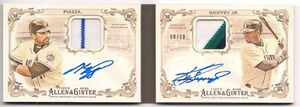 2016 Topps AG Dual Book Patch Auto Inside