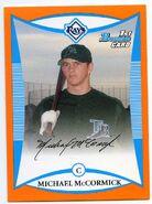 2008 Bowman Baseball Prospect Orange