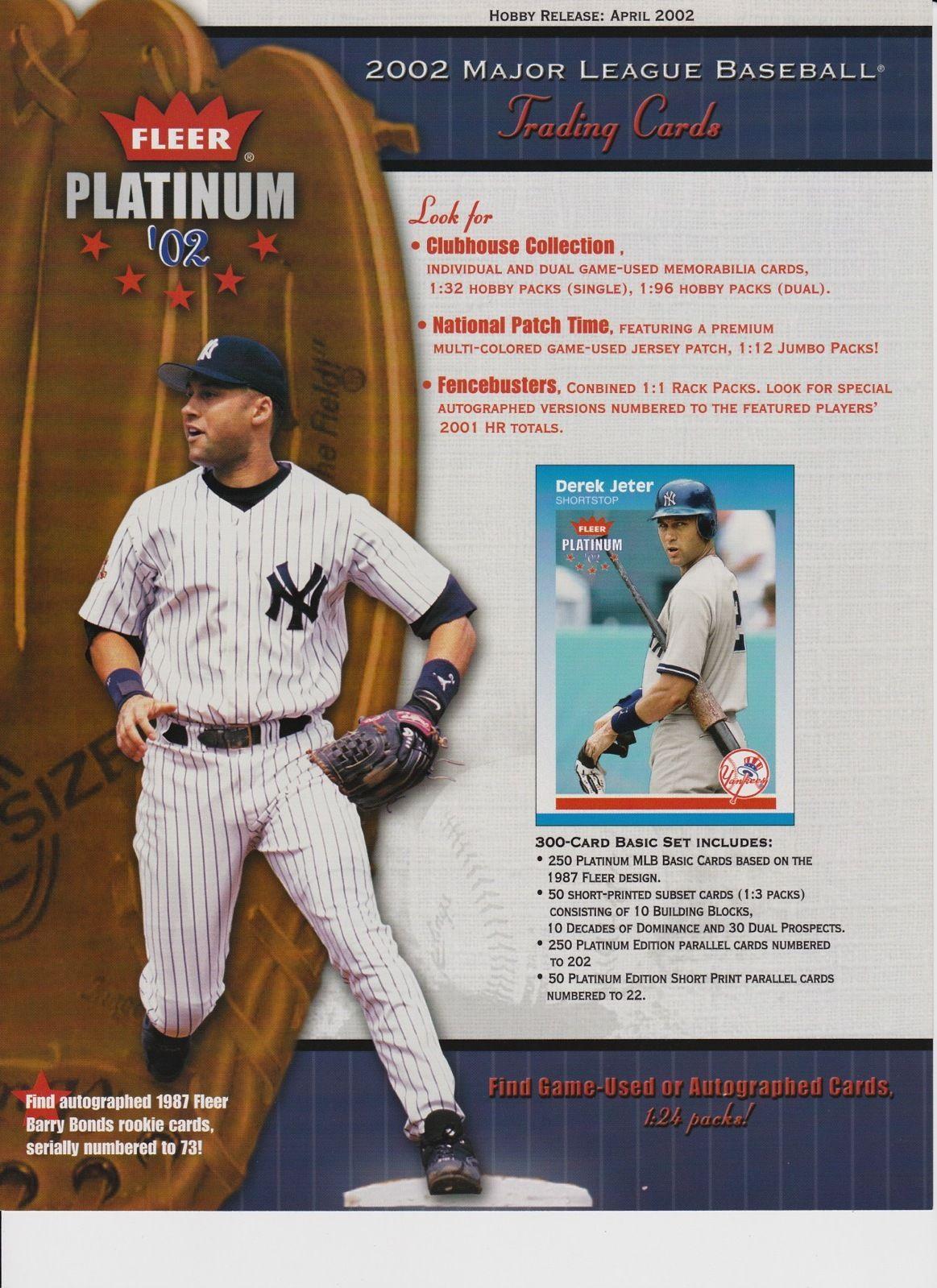 2002 Fleer Platinum Baseball Cards Wiki Fandom Powered By Wikia