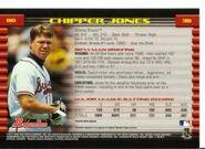 2002 Bowman Baseball 080 Chipper Jones Back