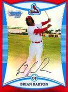 2008 Bowman Baseball Red Refractor