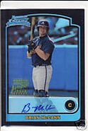 2003 Bowman Chrome refractor