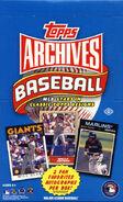 2012 Topps Archives Hobby Box